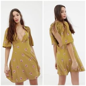 Free People mockinbird mini dress